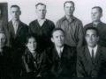 Делегаты колхоза «Путь Ильича» на районном собрании по обсуждению проекта нового устава сельского хозяйства. Ноябрь 1969 года