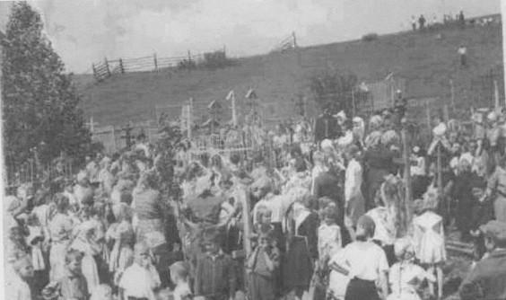 Митинг посвященный открытию памятника Швыткину И.Н. 19 мая 1967 год